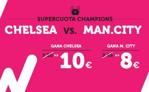 Supercuota Premier League - Chelsea vs Man City