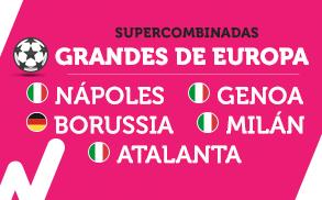 Wanabet Supercombinada Grandes Europa