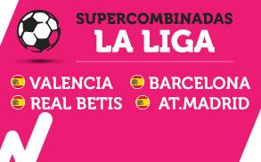 Wanabet Supercombinadas la Liga