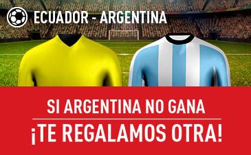 noticias apuestas Ecuador - Argentina