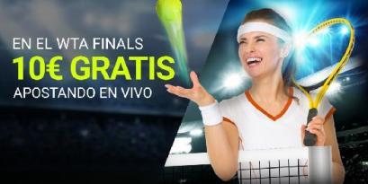 Luckia apuesta gratis WTA finals