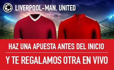 Sportium Premier League Liverpoo l Man United
