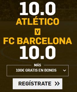 Supercuota Betfair la Liga - Atletico vs FC Barcelona