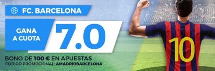 Supercuota Paston la Liga FC Barcelona gana