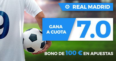 Supercuota Paston la Liga - Real Madrid gana a Girona FC cuota 7.0