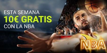 Luckia NBA gana 10€ gratis esta semana