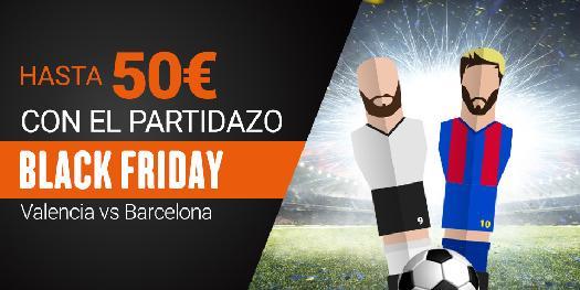 Luckia gana 50€ en Valencia vs Barcelona