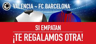 Sportium devolución la Liga, Valencia - FC barcelona
