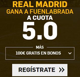 Supercuota Betfair Copa del Rey Real Madrid Fuenlabrada