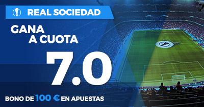 Supercuota Paston Real Sociedad gana cuota 7.0