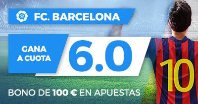 Supercuota la Liga Paston FC Barcelona gana a cuota 6.0