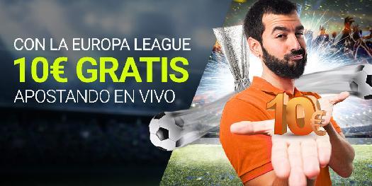 Luckia 10€ gratis Europa League