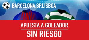 Sportium Champions Barcelona - Sp. Lisboa Sin riesgo