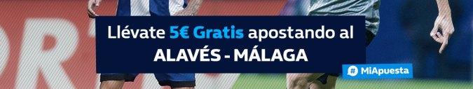 Williamhill Alavés - Málaga 5€ gratis