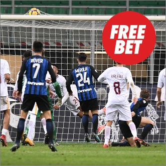 Circus Inter de Milan vs Roma Free Bet
