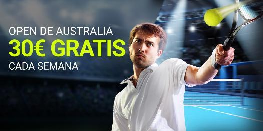 Luckia Open de Australia 30€ gratis cada semana