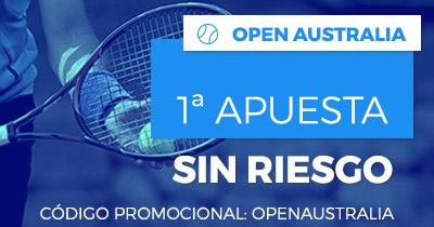 Paston Open Australia 1ª Apuesta sin riesgo