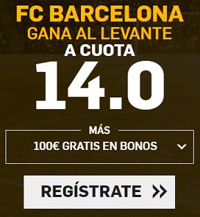 Supercuota Betfair la Liga FC Barcelona - Levante