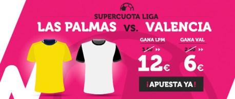 Supercuota Wanabet la Liga Las Palmas - Valencia