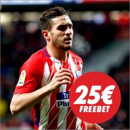 Circus Europa League 25€ freebet