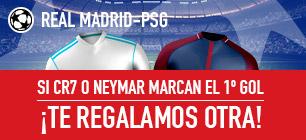 Sportium Champions Real Madrid PSG