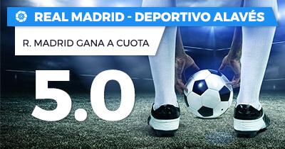 Supercuota Paston la Liga Real Madrid - Deportivo Alavés