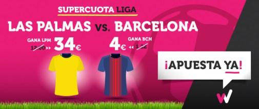 Supercuota Wanabet la Liga Las Palmas - Barcelona