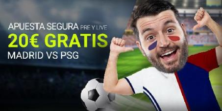Luckia Champions apuesta Segura PSG - Real Madrid