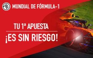 noticias apuestas Sportium mundial f1 tu primera apuesta sin riesgo