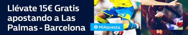 Williamhill la Liga Las Palmas Barcelona