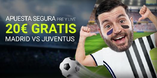 Noticias Apuestas Luckia Champions Madrid - Juventus 20€ gratis
