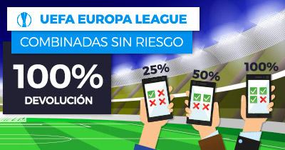 Paston Uefa Europa League Combinada Sin Riesgo 100% devolucion