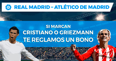 Noticias Apuestas Paston la Liga Real Madrid - Atlético de Madrid Regalamos bono