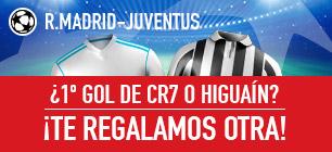 noticias apuestas Sportium Champions R. Madrid - Juventus