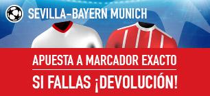 Noticias Apuestas Sportium Champions Sevilla - Bayern Munich