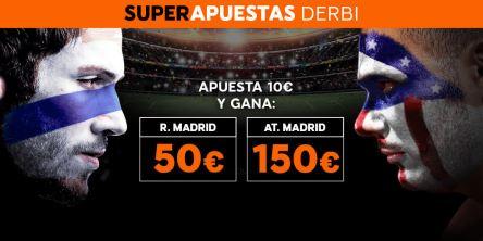 Noticias Apuestas Supercuota 888sport la Liga R. Madrid - At. Madrid