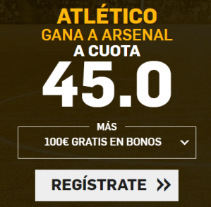 noticias apuestas Supercuota Betfair Europa League Atlético vs Arsenal