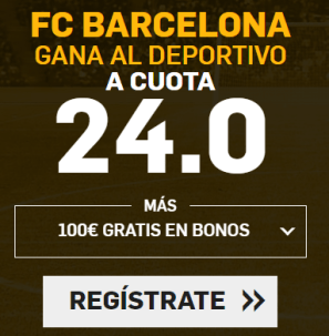 noticias apuestas Supercuota Betfair la Liga FC Barcelona - Deportivo