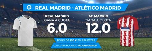 Noticias Apuestas Supercuota Paston la Liga Real Madrid - Atlético Madrid