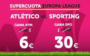 Noticias Apuestas Supercuota Wanabet Europa League Atlético vs Sporting