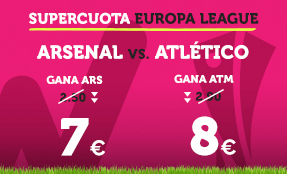 Noticias Apuestas Supercuota Wanabet Europa League Arsenal vs Atlético