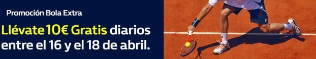 William Hill Tenis 10€ gratis
