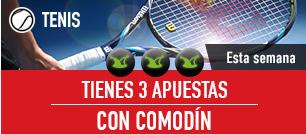 noticias apuestas Sportium Tenis 3 apuestas con comodin