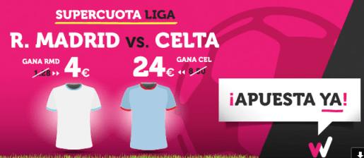 noticias apuestas Supercuota Wanabet la Liga R. Madrid vs Celta