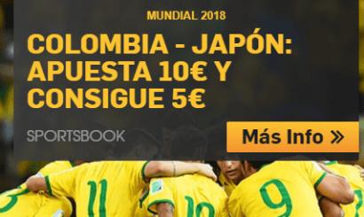 noticias apuestas Betfair Mundial 2018 Colombia - Japón Apuesta 10€ y consigue 5€