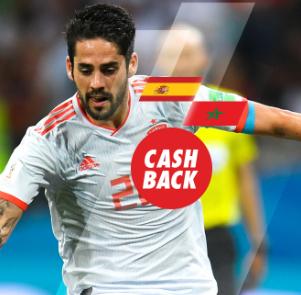 noticias apuestas Circus España - Marruecos cash back
