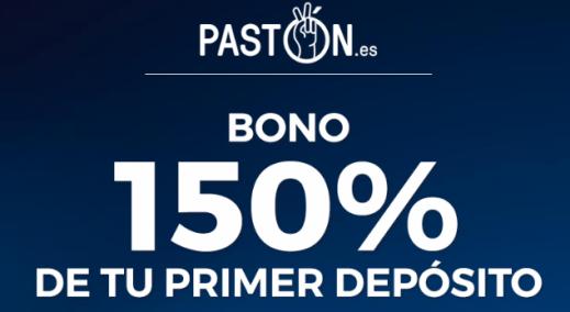 noticias apuestas Paston Bono Especial Mundial 150% en tu primer depósito