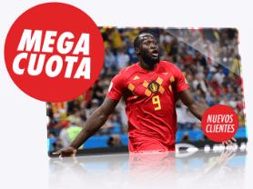 Supercuota Circus Bélgica vs Inglaterra Apuesta 10€ gana 50€