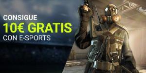 Consigue 10€ gratis con E-Sports Luckia