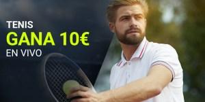 Tenis en vivo gana 10€ en Luckia